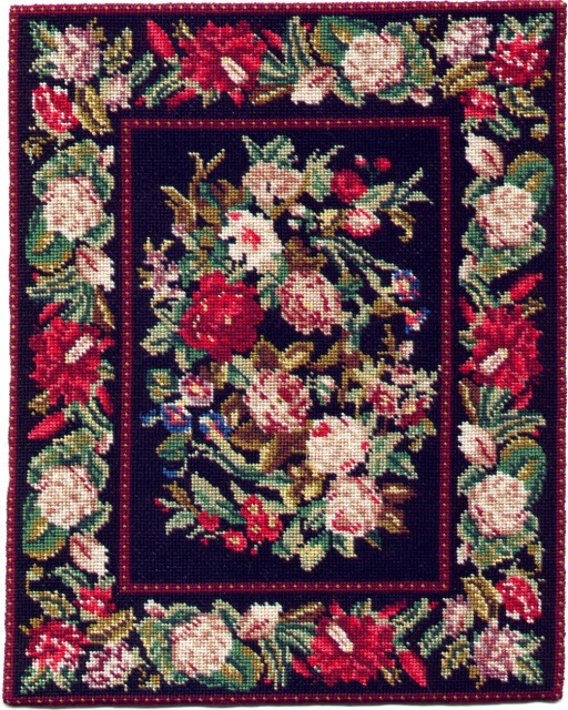 Miniature Needlepoint Dollhouse Rug Kits